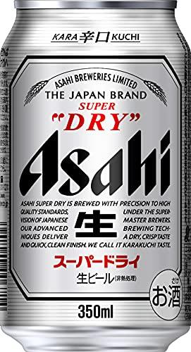 『【ビール】アサヒ スーパードライ [ 350ml×24本 ]』