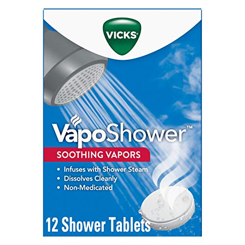 Vicks VapoShower Bomb Tablets 12-Count Now $12.40