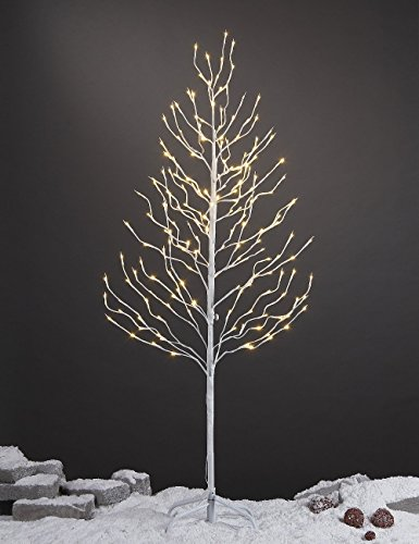 LIGHTSHARE 5Ft 200L LED Star Light Tree, Home,Festival,Party,Christmas,Indoor and Outdoor Use,Warm White
