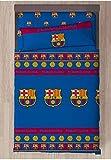 FCB FC Barcelona Referencia NI Juegos de sábanas y Fundas de Almohada Alfileres para faldón de Cama Textiles del hogar Unisex Adulto, Multicolor (Multicolor), Individual