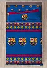 FC Barcelona Referencia NI Juegos de sábanas y Fundas de Almohada Alfileres para faldón de Cama Textiles del hogar Unisex Adulto, Multicolor (Multicolor), Individual