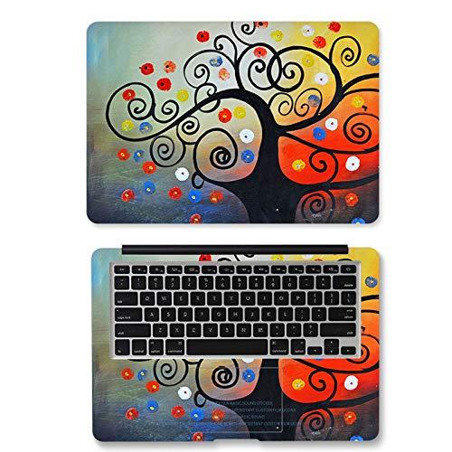 Etiqueta engomada del cuaderno de la piel del ordenador portátil 13 15 15.6 pulgadas para Lenovo/xiaomi aire/MacBook/asus MATEBOOK X 17' 13.3' etiqueta engomada VS-560-tamaño personalizado