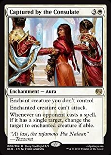Magic The Gathering - Captured by The Consulate (008/264) - Kaladesh