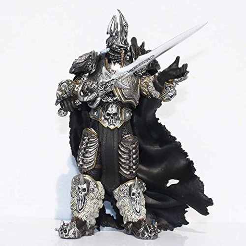 C.G. Arthas Menethil Figur ca. 17cm, King Lich , World of Warcraft Wow