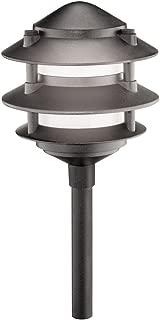 Malibu 1301-9200-80 Cast Metal Tier Light, Black