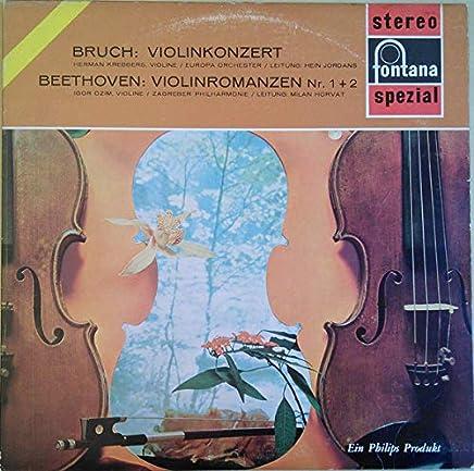 Violinkonzert / Violinromanzen Nr. 1 + 2 [Vinyl LP]