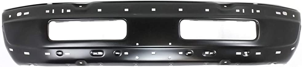 Bumper for Dodge Full Size P/U 94-02 Front Bumper Face Bar Black Old Body Style