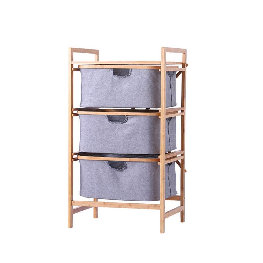 DRHYSFSA Estante de Baño 3-Tier Inicio Escalera Plataforma Torre con Patas Estante for Bath Oficina Habitación Sala Accesorios de Cocina y baño (Color : Gray, Size : 44x96cm): Amazon.es: Hogar