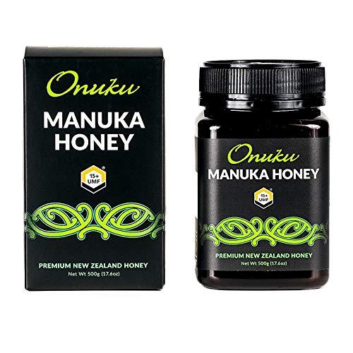 ONUKU UMF Certified Manuka Honey 15 + 500 Gram