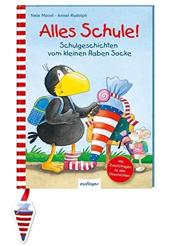 Alles Schule!: Schulgeschichten vom kleinen Raben Socke (Der kleine Rabe Socke)