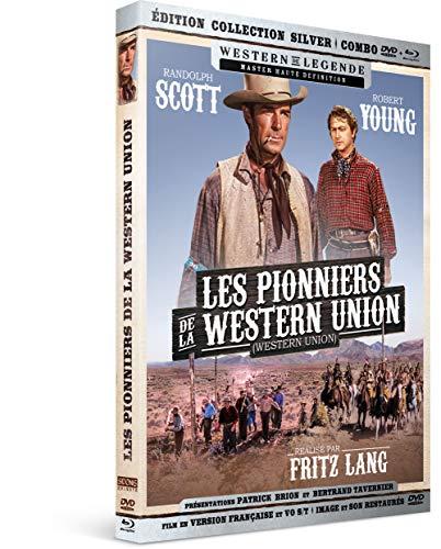 Les Pionniers de la Western Union [Édition Collection Silver Blu-Ray + DVD]