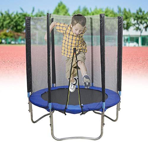 Trampolín de fitness plegable, protección del medio ambiente, para interiores y exteriores, para niños y adultos, carga máxima de 150 kg