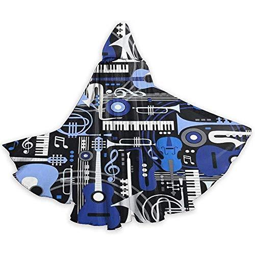 KDU Fashion Wizard Mantel, Muziekinstrument Rock Band Zachte Comfortabele Heks Wizard Kostuums Voor Kerstvakantie Cosplay, 40x150cm