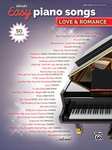 Compare Textbook Prices for Alfred's Easy Piano Songs -- Love & Romance: 50 Classics  ISBN 9781470633349 by Alfred Music
