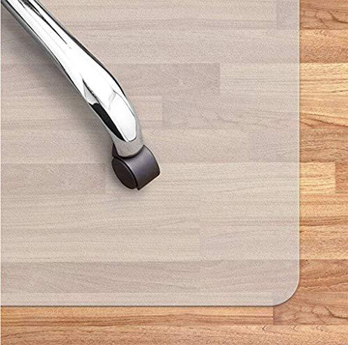 ZHI-HAN bureaustoel mat voor tapijt, transparant hardhout vloerbeschermer vloerbeschermer hardhout vloer geschikt voor stoel tafel