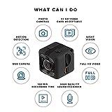 MENGZHEN 1 cámara mini SQ11 1080P, cámara deportiva HD, cámara de visión nocturna, cámara en miniatura oculta en miniatura
