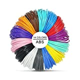 Pluma 3D Filamento ABS – VICTORSTAR 14 Colores, 32.5 pies cada uno Impresión...