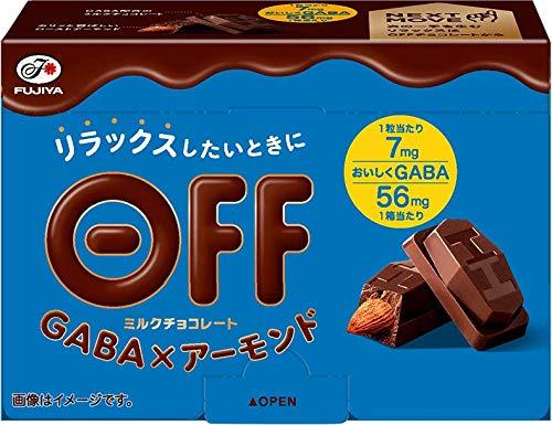 不二家 OFFチョコレート(GABA×アーモンド) 8粒 ×5個