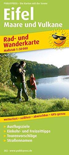 Eifel, Maare und Vulkane: Rad- und Wanderkarte mit Ausflugszielen, Einkehr- & Freizeittipps, wetterfest, reissfest, abwischbar, GPS-genau. 1:50000 (Rad- und Wanderkarte / RuWK)