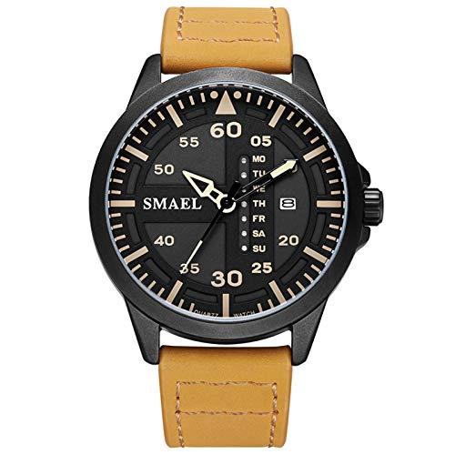Blisfille Reloj para Colgar En La Ropa Reloj Hombre Casual Reloj Deporte Inteligente Reloj para Joven Mujer Reloj de Oro Rosa Mujer