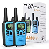 Toys Gift for 4-12 Year Old Boys Girls, Walkie Talkies for Kids Long Range 22 Channels 2 Way Radio Backlit LCD Display, Flashlight Children Walkie Talkies for Birthday Gift, Outdoor, Indoor, Camping