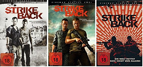 Strike Back - Staffel 1-3