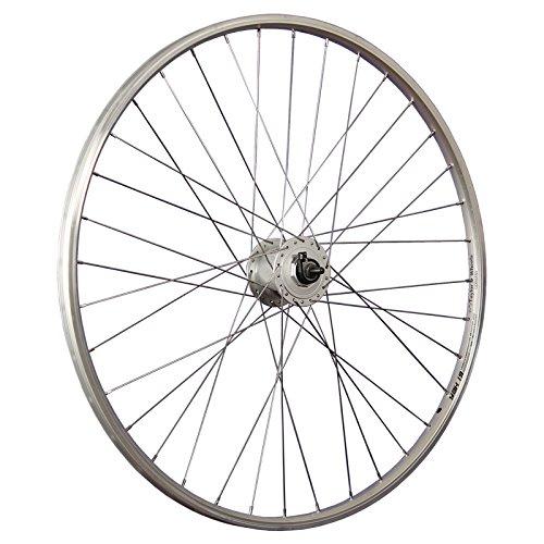 Taylor-Wheels 28 Zoll Vorderrad Alu Hohlkammerfelge YAK19 / DH-C3000 Nabendynamo - Silber