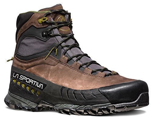 La Sportiva TX5 GTX Hiking Shoe, Chocolate/Avocado, 41