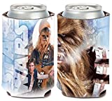 Wincraft Star Wars Solo/Chewbacca 1-Pack 12 oz. 2-Sided Foldable Neoprene Can Cooler