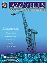 Jazz & Blues - Tenor Saxophone Play-Along Solos - BK+CD