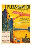Herbé TM Aviation 1911 FLERS-Poster / Kunstdruck, 40 x 60