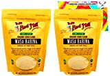 Bob's Red Mill Organic Masa Harina Flour Bundle. Includes Two (2) 24oz Packages of Bob's Red Mill...