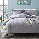 Hobed Life Queen Comforter Set 4 Pieces, Ultra...