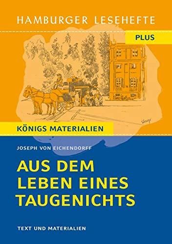 Aus dem Lebene eines Taugenichts: Hamburger Leseheft plus Königs Materialien (Hamburger Lesehefte PLUS)