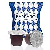 500 cápsulas de café Barbaro Cremoso Napoli, mezcla azul, compatibles con Nespresso