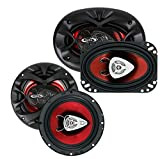 New BOSS CH6530 6.5' 300 Watt + Boss CH4630 4x6' 250 Watt Car Audio Speakers