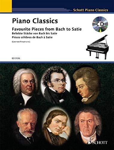 Piano Classics: Beliebte Stücke von Bach bis Satie. Klavier. Ausgabe mit CD. (Schott Piano Classics)