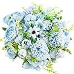 JOHOUSE-Artificial-Flowers-4PCS-Light-Blue-Fake-Peony-Silk-Hydrangea-Rose-Bouquet-Decor-Plastic-Carnations-Realistic-Flower-Arrangements-Wedding-Decoration-Table-Centerpieces