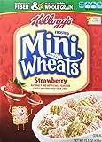 Kellogg's Frosted Mini Wheats Bite Size Strawberry Delight 15.5 Ounce