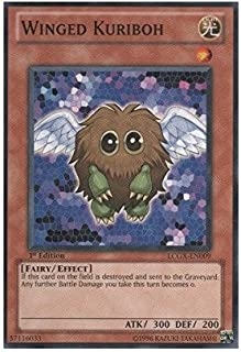 YU-GI-OH! - Winged Kuriboh (LCGX-EN009) - Legendary Collection 2 - 1st Edition - Common