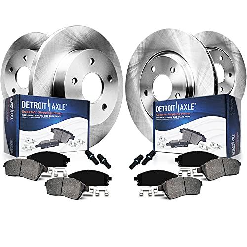 Detroit Axle - Front & Rear Disc Rotors + Ceramic...