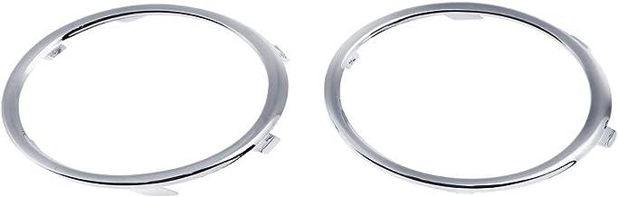 Ahomi 1 par de Anillos de luz antiniebla Delantera galvanizados A4 B8 09-12