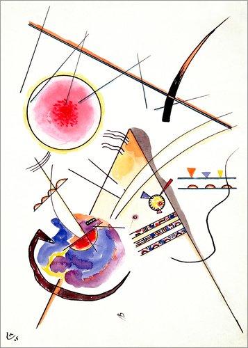 Poster 50 x 70 cm: Komposition von Wassily Kandinsky/akg-Images - hochwertiger Kunstdruck, neues Kunstposter