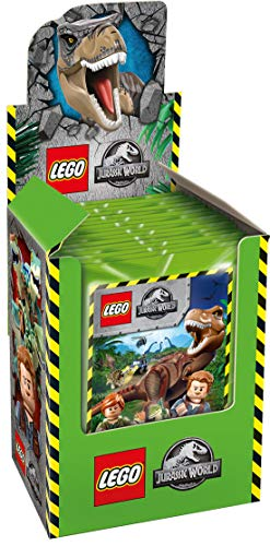 Blue Ocean Jurassic World Lego Sticker Serie 2019 1x Display inkl. 50 Sammeltüten