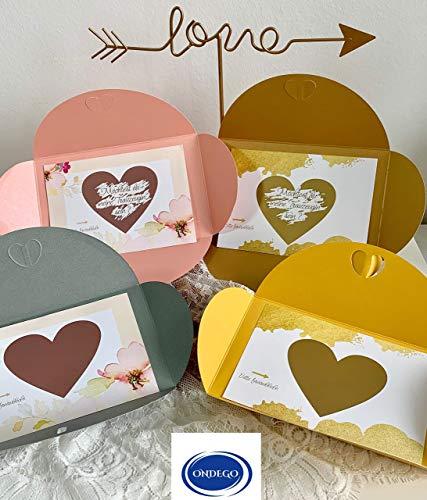 ONDEGO XXL Trauzeugin Brautjungfer FRAGEN Rubbelkarte Karte Hochzeit personalisierte Geschenke Möchtest du meine Trauzeugin sein ?