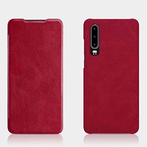 SENDIAYR TapaTrasera de la PC de laPU de la Cartera de la Cubierta de la Caja del teléfono del tirón, para Huawei P20p30 P30 Pro