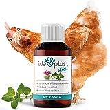 Ida Plus – MiLB & Weg – Mangime complementare con estratti vegetali Naturali – particolarmente Indicato per polli, Tacchini, oche, Anatre e Altro pollame – Rende più appetibili Gli Alimenti