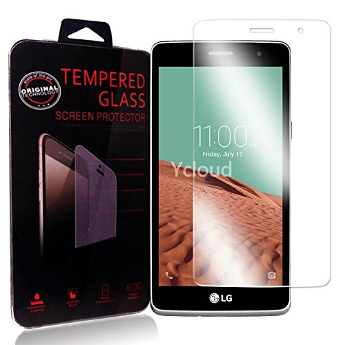 Ycloud Panzerglas Folie Schutzfolie Bildschirmschutzfolie für LG Bello II / Bello 2 screen protector mit Festigkeitgrad 9H, 0,26mm Ultra-Dünn, Abger&ete Kanten
