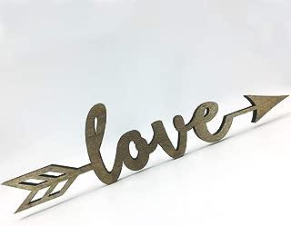 metal love arrow