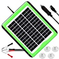 SOLPERK 10W Solar Panel?12V Solar Panel Charger Kit+8A Controller?Suitable for Automotive, Motorcycle, Boat, ATV, Marine, RV, Trailer, Powersports, Snowmobile etc. Various 12V Batteries. (10W Solar)